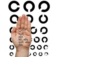 Sehtest Augenarzt Matthias Buehner